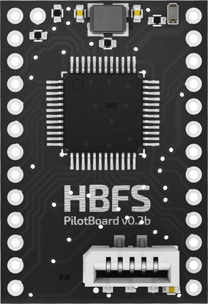 Microcontroller module STM32F303 for linefollower
