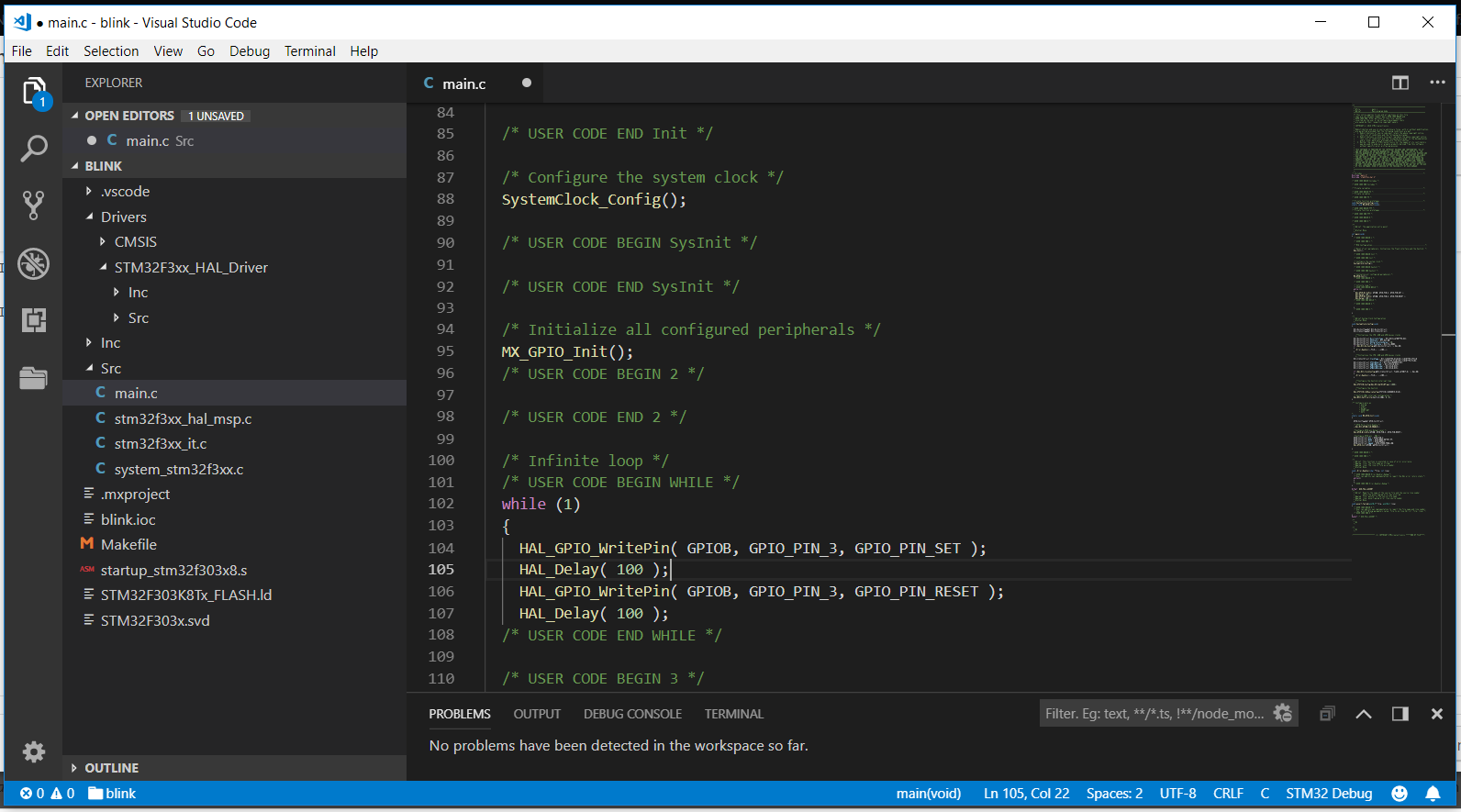 Programming STM32 from VS Code