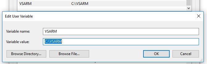 VSARM Variable