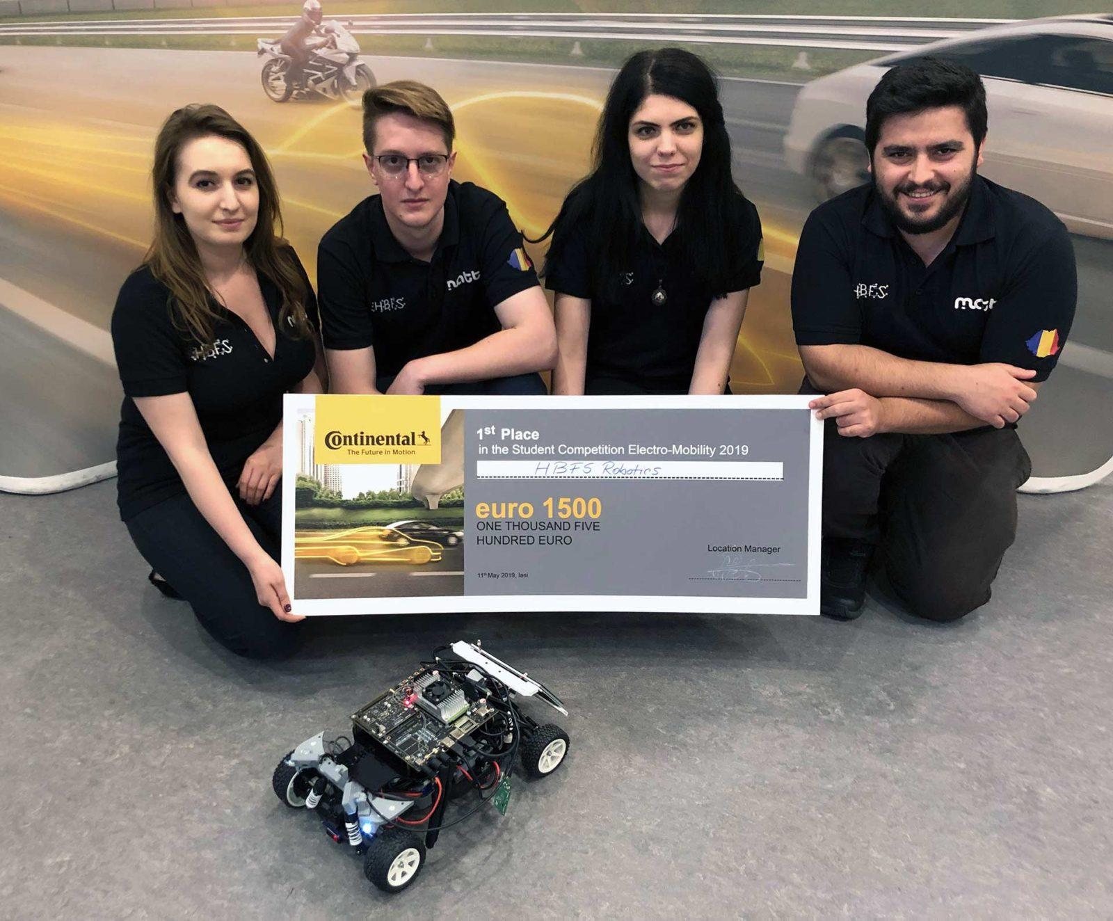 Electromobility continental winner team - HBFS